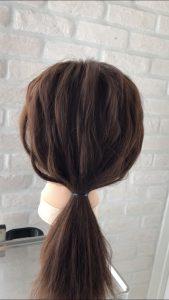 髪の上手な引き出し方の画像